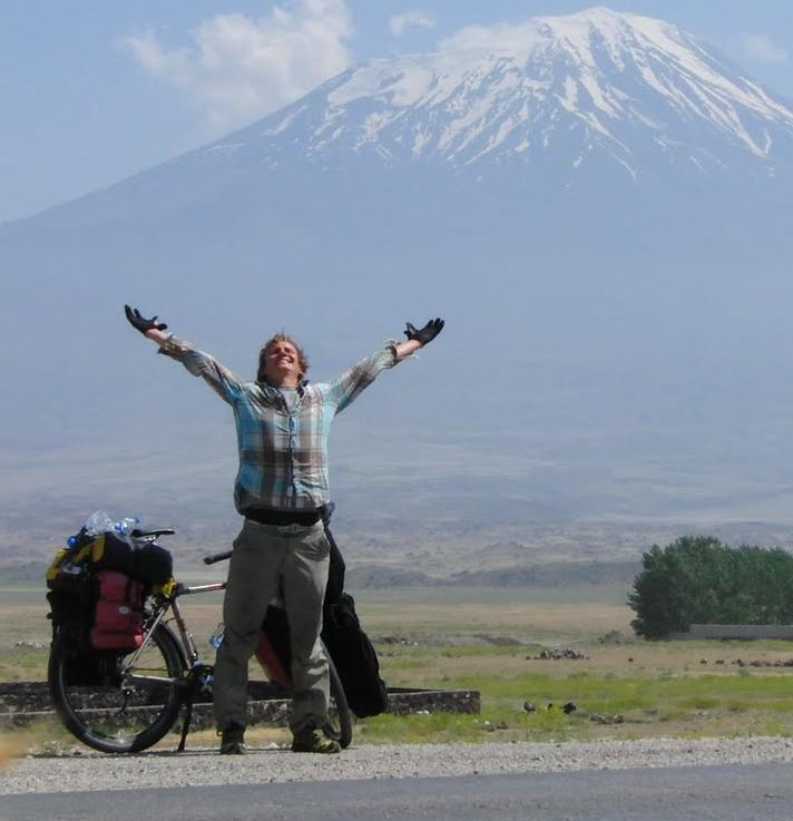 Philip Groten am Mount Ararat
