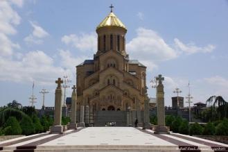 Sameba-Kathedrale (georgisch სამების ტაძარი 'Dreifaltigkeits-Kathedrale)